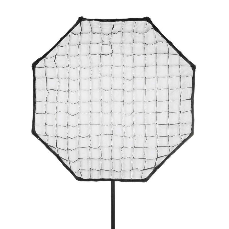 Quadralite Grille nid d'abeille pour boîte à lumière octagonale Octa 120 cm
