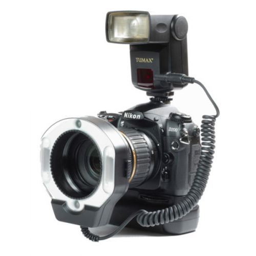 Tumax Kit Flash annulaire macro (DMF880 + DMR + 72 mm) pour Sony Alpha