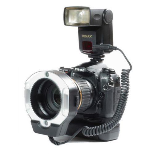 Tumax Kit Flash annulaire macro (DMF880 + DMR + 72 mm) pour Pentax