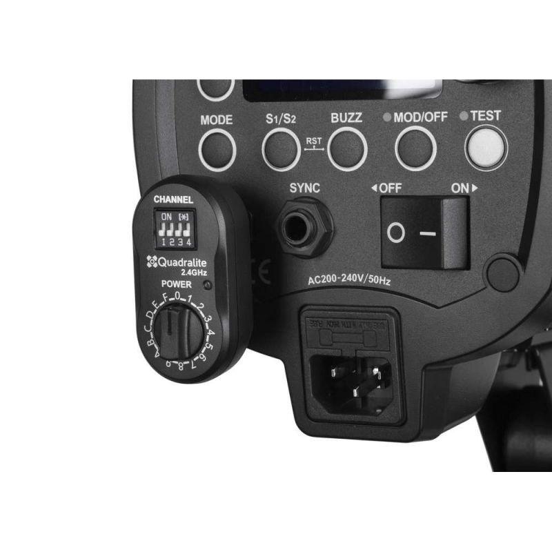 Quadralite Navigator Xru Récepteur de flash universel 2,4 GHz