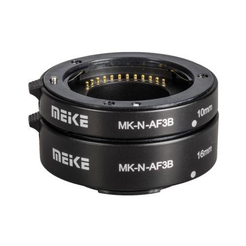 Meike Kit Tube d'allonge MK-N-AF3B Nikon1 econo