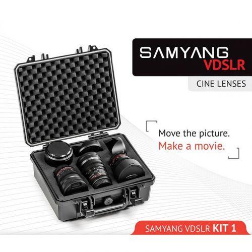 Samyang VDSLR Kit Cinea Kit 1 (14 mm, 24 mm, 35 mm) for Sony