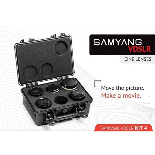 Samyang VDSLR Cinema Kit 4 (14 mm, 24 mm, 35 mm, 85 mm, 500 mm) for Sony