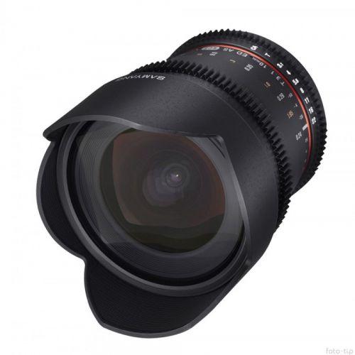 Samyang objectif 10 mm T3.1 ED AS NCS CS VDSLR pour Canon