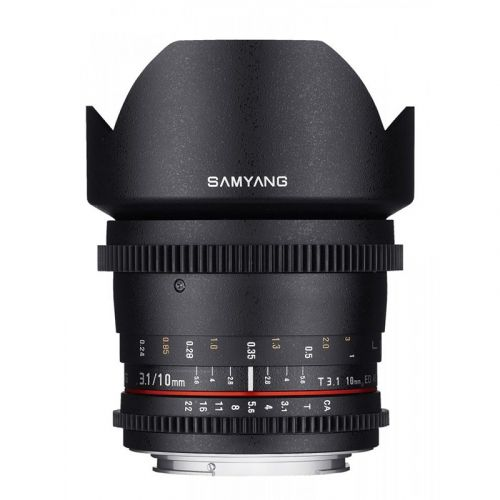 Samyang ultra wide angle 10 mm T3.1 ED AS NCS CS VDSLR for MFT