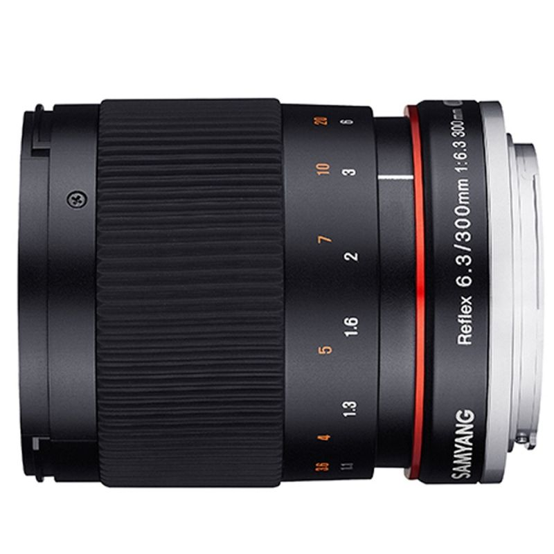 Samyang objectif 300 mm f/6.3 ED UMC CS Reflex pour Canon EF