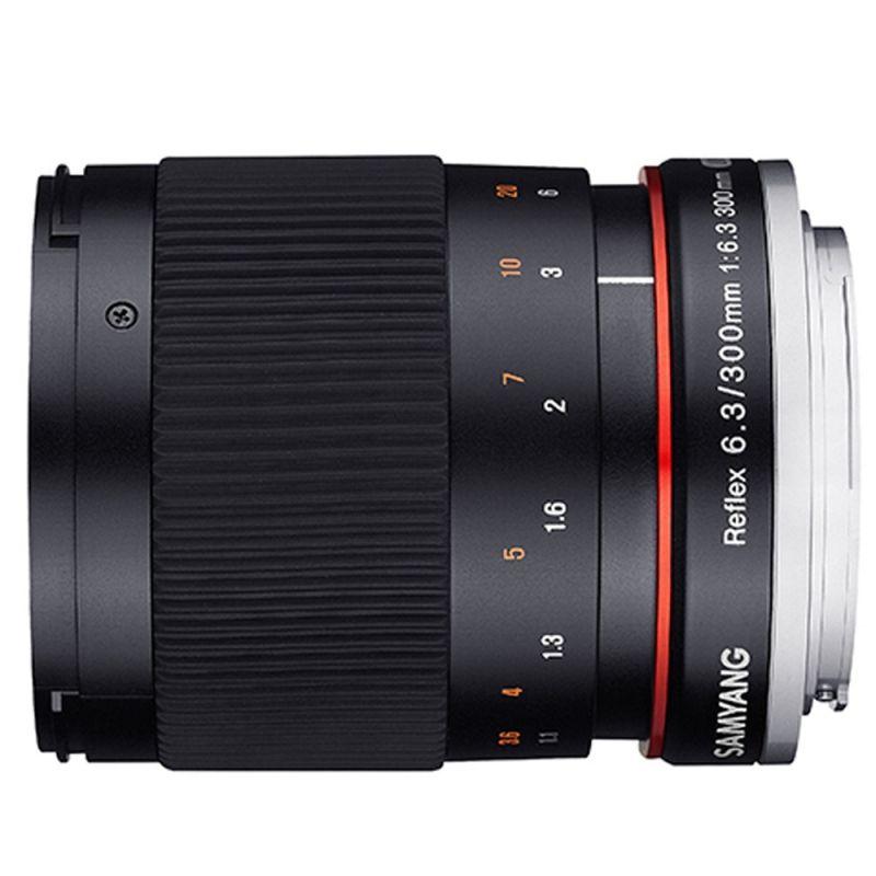 Samyang objectif 300 mm f/6.3 ED UMC CS Reflex pour Nikon