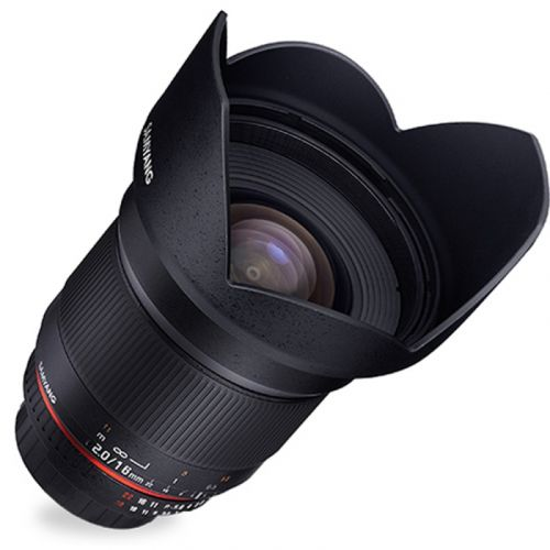 Samyang objectif 16 mm f/2.0 ED AS UMC CS pour micro 4:3
