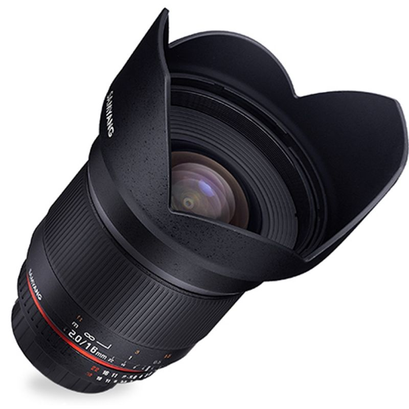 Samyang objectif 16 mm f/2.0 ED AS UMC CS pour Olympus 4/3