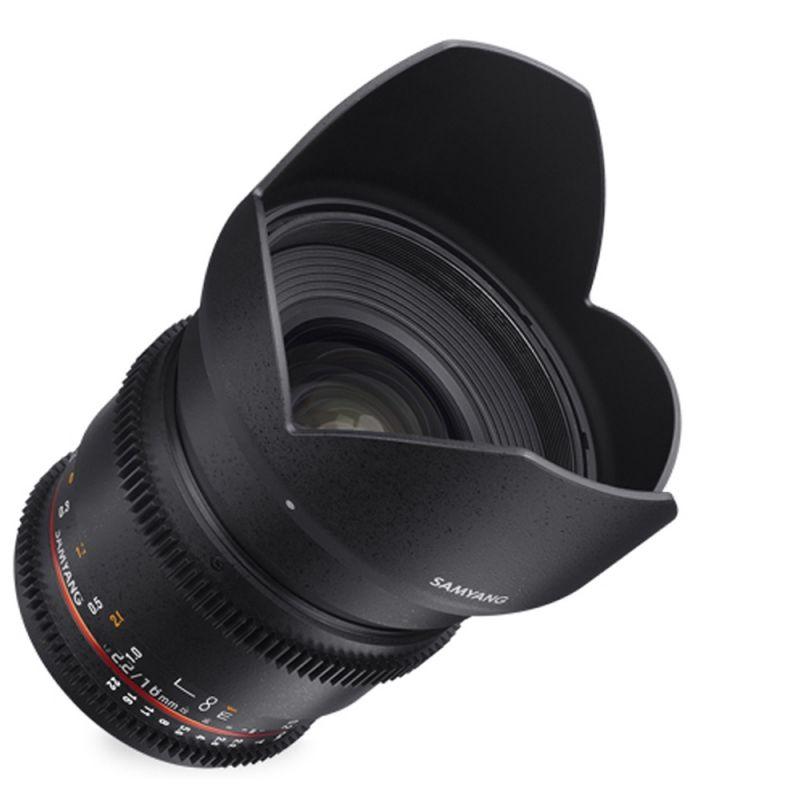 Samyang objectif 16 mm T2.2 ED AS UMC VDSLR pour Sony E