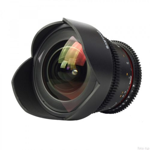 Samyang objectif 14 mm T3.1 ED AS IF UMC VDSLR pour Pentax