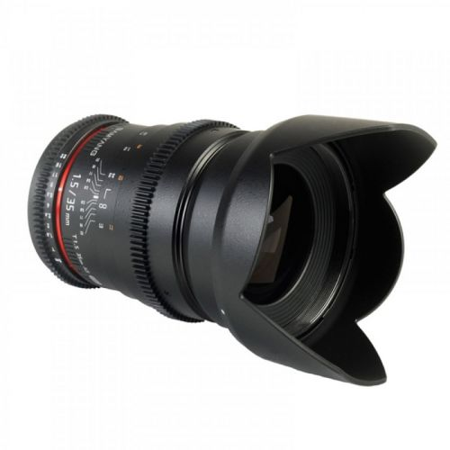 Samyang objectif 35 mm T1.5 ED AS IF UMC VDSLR pour Micro 4/3