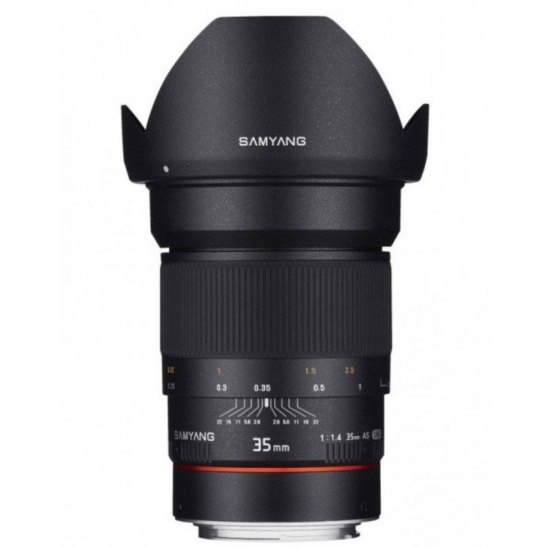 Samyang objectif 35 mm f/1.4 AS UMC pour Canon