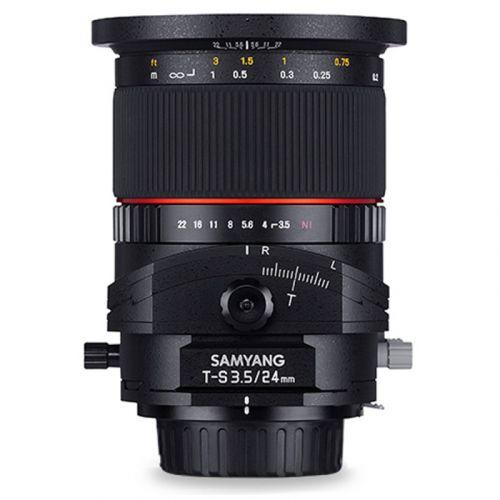 Samyang 24 mm F3.5 Tilt-Shift Pentax