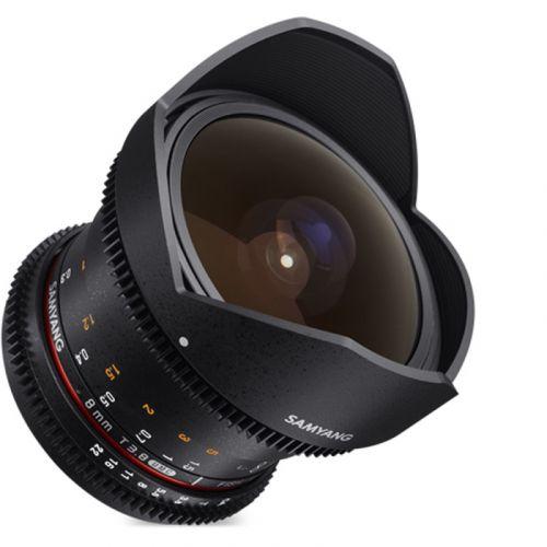 Samyang objectif fisheye 8 mm T3.8 UMC CS VDSLR CSII pour Pentax
