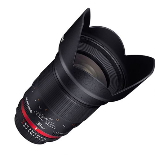 Samyang objectif 35 mm f/1.4 UMC AS pour Olympus 4:3