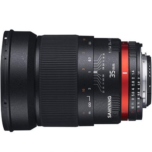 Samyang lens 35 mm f/f1.4 for Olympus FT
