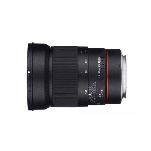Samyang lens 35 mm f/1.4 AS UMC AE for Canon