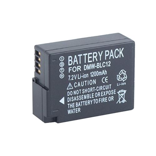 Delta Battery Panasonic DMW-BLC12-T 1100mAh