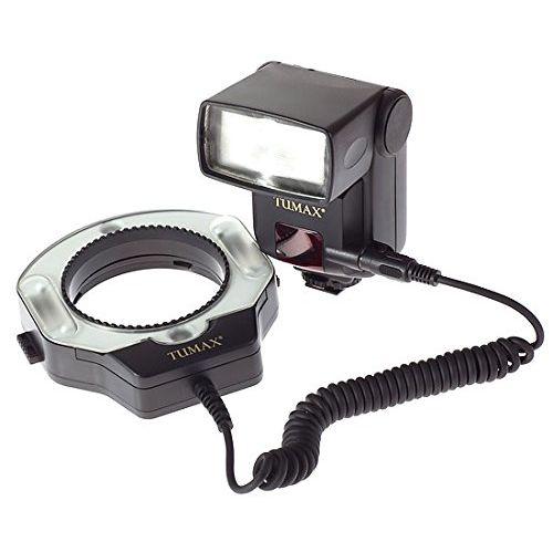 Tumax Kit Flash annulaire macro (DMF880 + DMR + 72 mm) pour Nikon