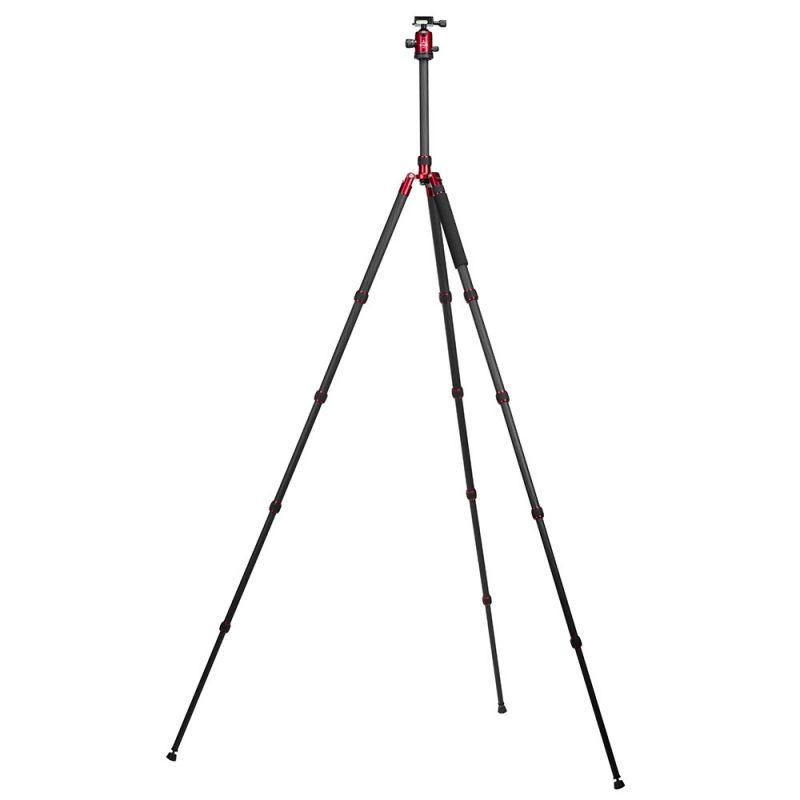 Triopo Kit Trépied GT-3230 +Rotule B2 (rouge)