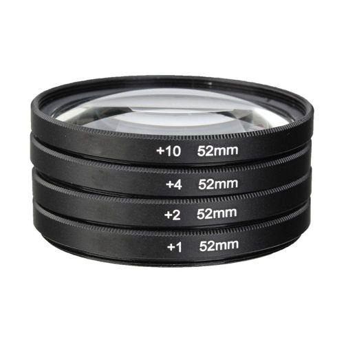 Akira macro set +1+2+4+10 + case 55 mm