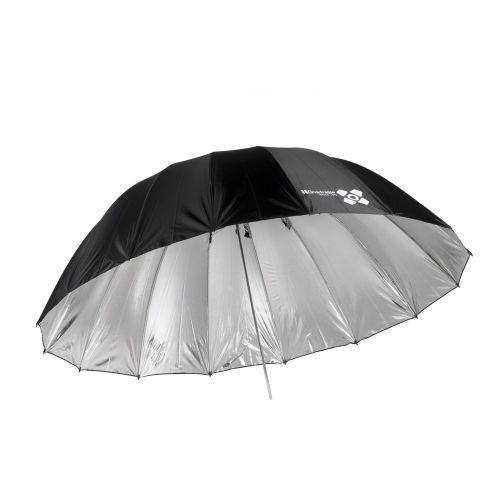 Quadralite Space 150 silver parabolic umbrella
