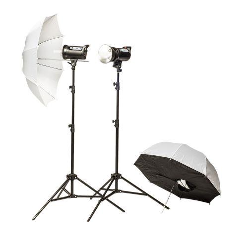 Quantuum Up! 600 Kit 2x 300ws flash de studio