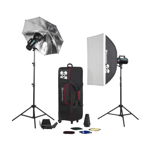 Quadralite Move 400 kit 2x 400ws flash de studio