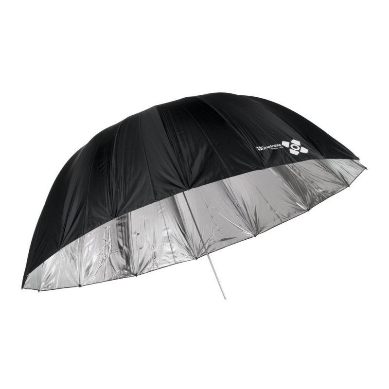 Quadralite Space 185 cm Parapluie photo parabolique réflecteur argent