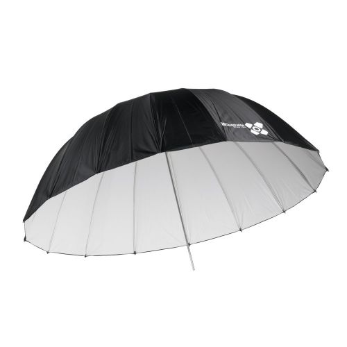 Quadralite Space 150 cm Parapluie photo parabolique réflecteur blanc