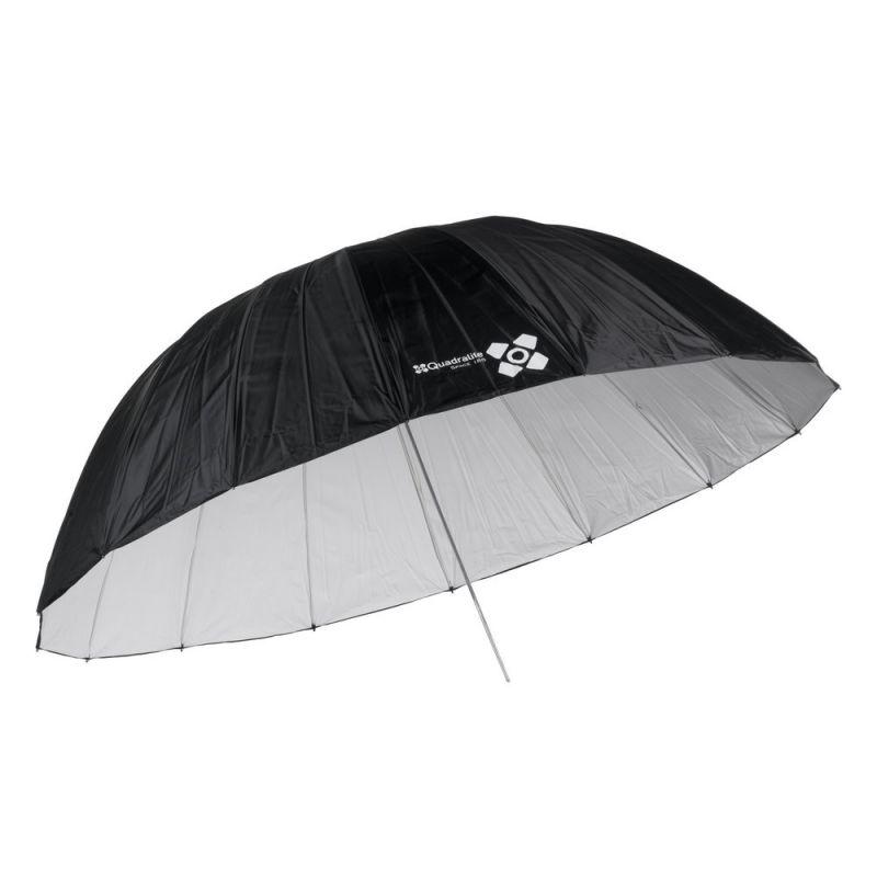 Quadralite Space 185 Parapluie photo parabolique réflecteur blanc
