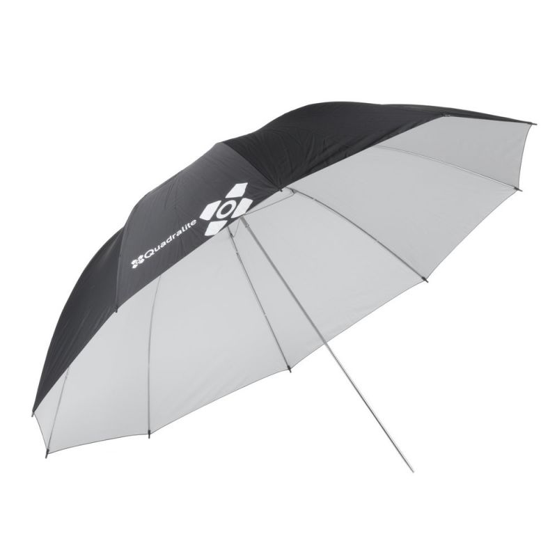 Quadralite Parapluie diffuseur photo blanc 150 cm