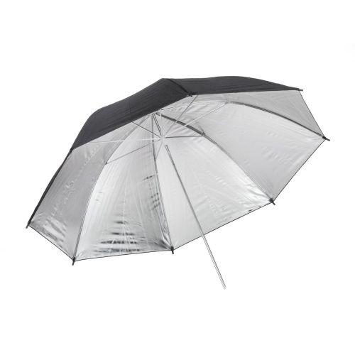 Quadralite Parapluie réflecteur photo argent 91cm