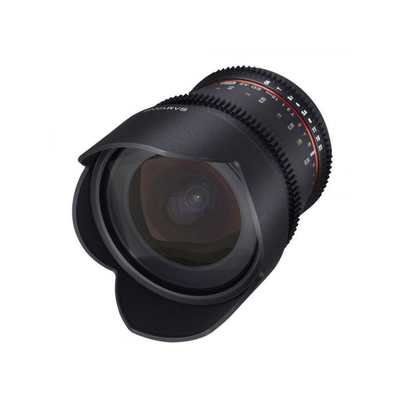 Samyang objectif 10 mm T3.1 ED AS NCS CS VDSLR pour Pentax