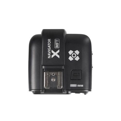 Navigator X kit émetteur+récepteur de Flash pour Olympus/Panasonic Micro 4/3