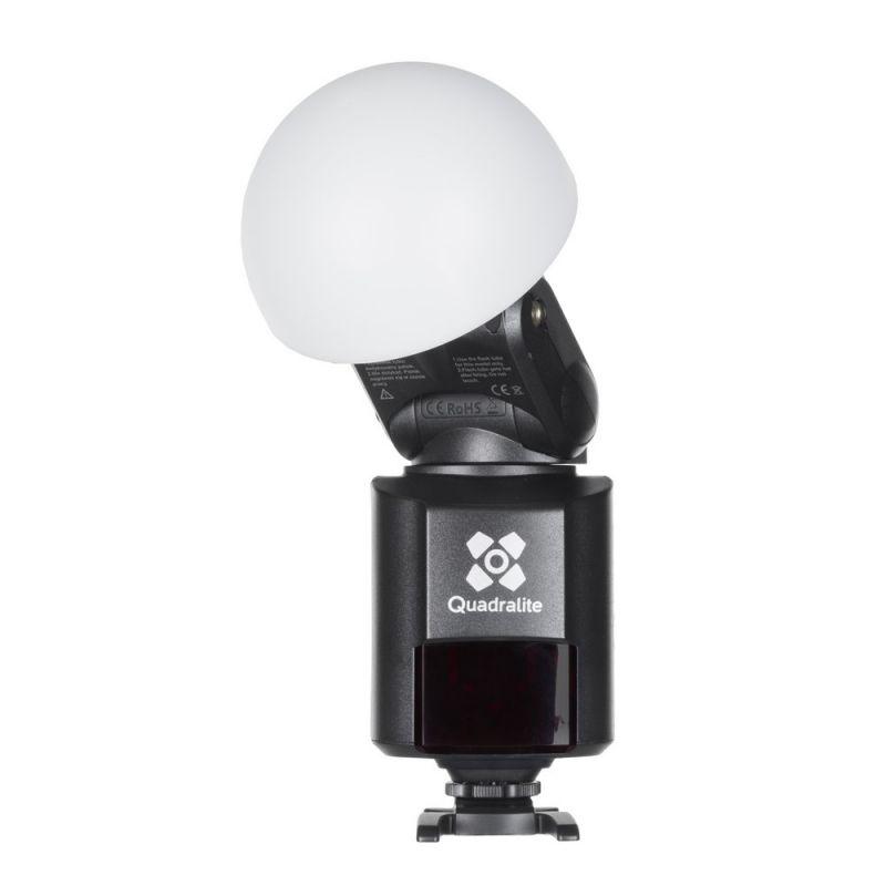 Quadralite Reporter Light-Dôme Diffuseur pour flash torche AD180/AD360