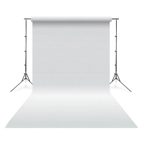 Falcon Eyes Fond de studio vinyle uni blanc 2,75 x 6,09 m