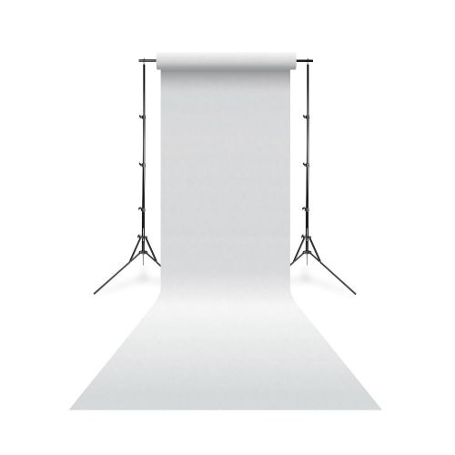 Linkstar fond de studio papier 01 Arctic blanc 1.35x11 m