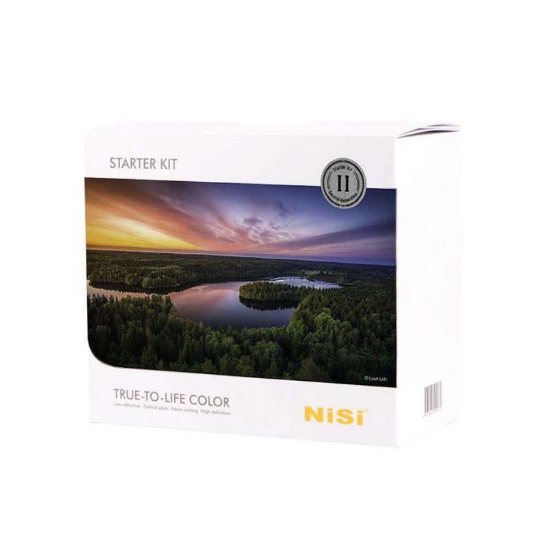 Nisi Kit filtres débutant 100 mm - V5 Pro porte-filtres + filtres + bagues + accessoires