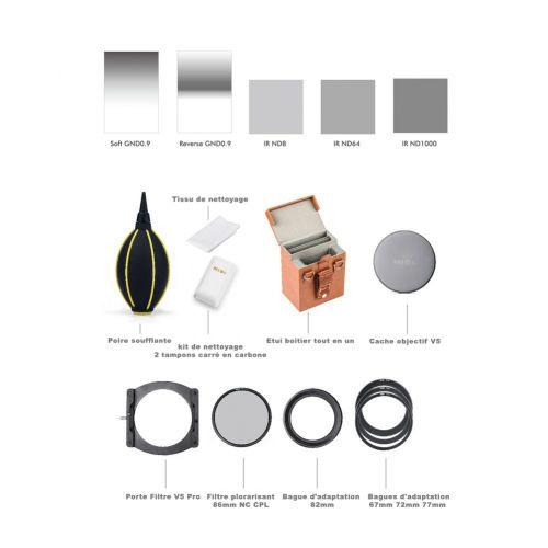 Nisi Kit filtres Avancé 100 mm