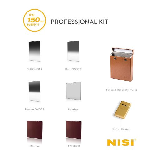 Nisi Kit filtres Professionnel 150 mm