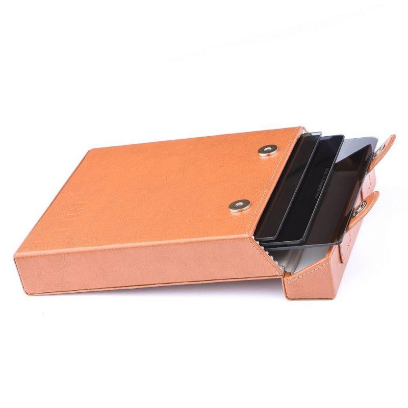 Nisi Etui boîte pour filtres carrés 150 mm en simili cuir