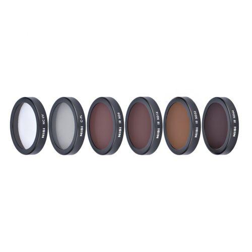 Nisi Kit de 6 filtres ND, UV, CPL pour DJI Phantom 4 Pro/Pro+/Adv/Adv+