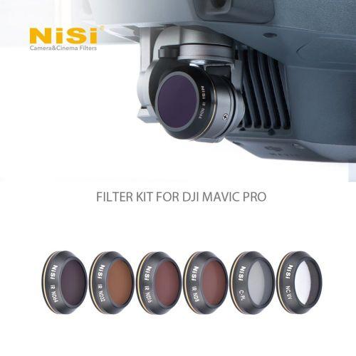 Nisi Kit de 6 filtres pour DJI Mavic Pro