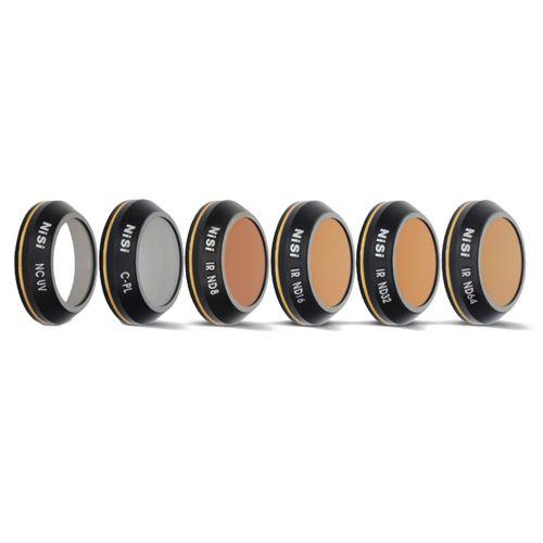 Nisi Kit de 6 filtres ND, UV, CPL pour DJI Mavic Pro