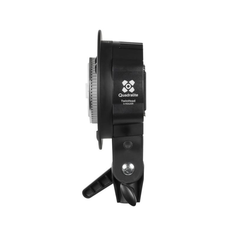 Quadralite Reporter 200 Twin Head S-holder/S-type support