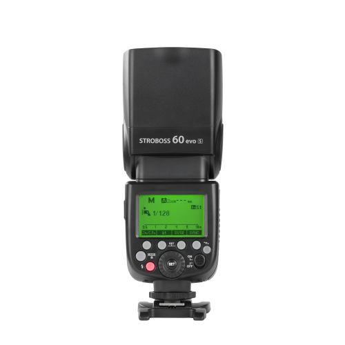 Quadralite Stroboss 60evo Flash cobra TTL sur batterie pour Sony Multi-Interface V860IIS