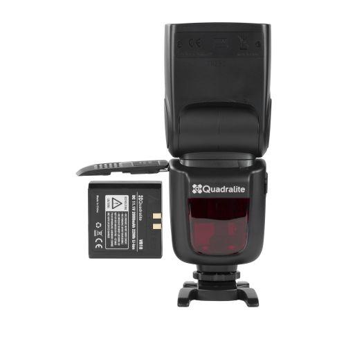Quadralite Stroboss 60evo Flash cobra TTL sur batterie pour Fujifilm X