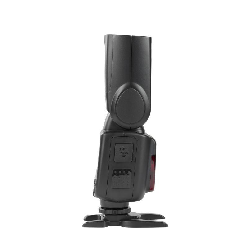 Quadralite Stroboss 60evo Flash cobra E-TTLII sur batterie pour Canon V860IIS